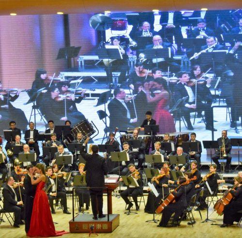 Georgi Nikolov amazing monent on concert inChina