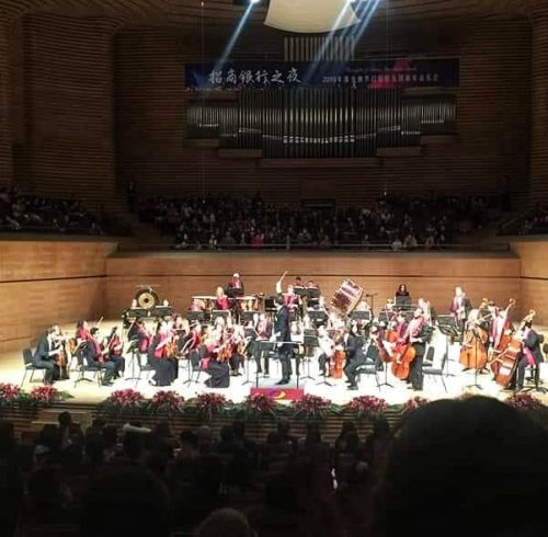 Georgi Nikolov concert in China
