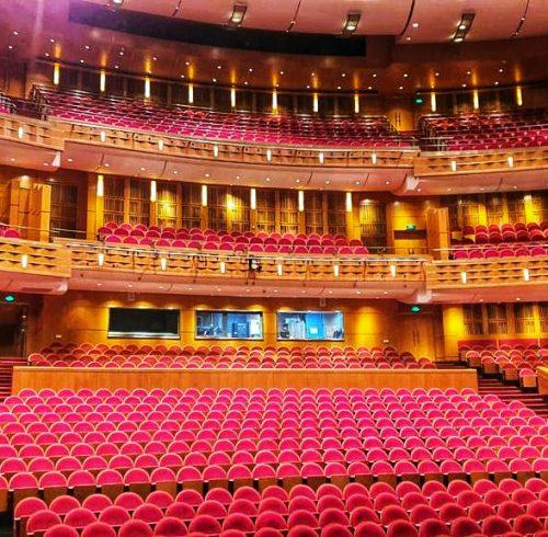 Georgi Nikolov in concert hall in China